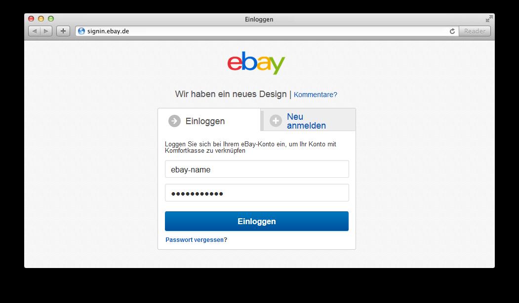 ebay bankkonto bestätigen